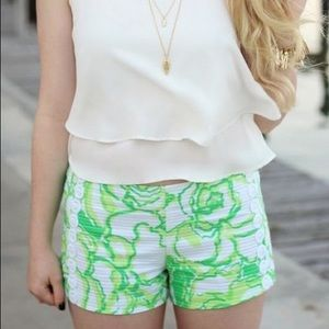 Lilly Pulitzer Liza Short Heart Breakers Shorts